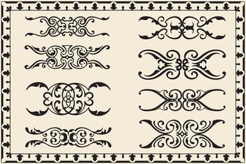 Lines set