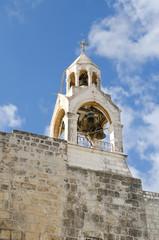 Палестина. Город Вифлием. Храм Рождества Христова, колокольня