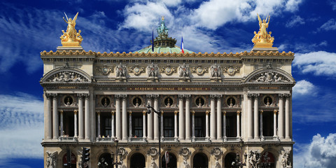 Aufkleber - Building of the Grand-Opera in Paris, France