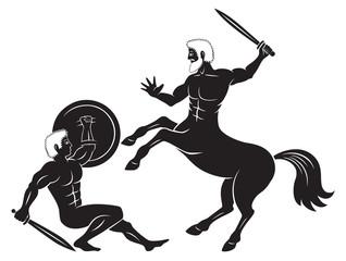 Hercules and Сentaur