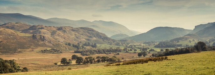 A valley in the Lake District, UK