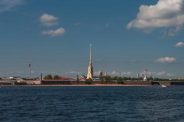 Peter and Paul Fortress in Saint-Petersburg, Rus