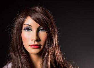 Portrait of mannequin