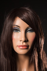 Portrait of mannequin