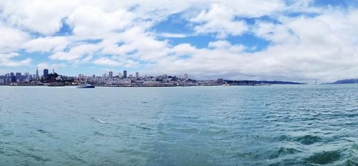 Skyline von San Francisco als Panorama