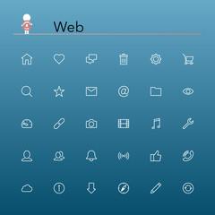 WebLine Icons