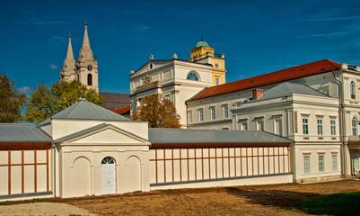 Cistercian Zirc Abbey in Zirc, Hungary