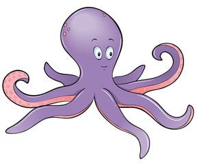 Krake Octopus Tintenfisch