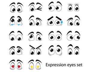 Expression eyes
