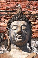 Face of Buddha Status