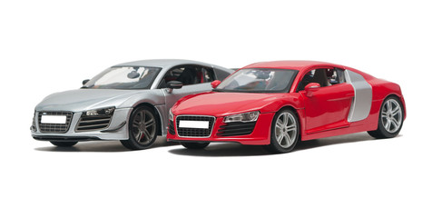 Two German sports car