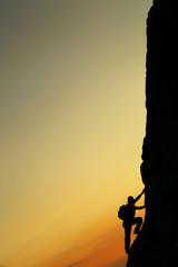 Wall Mural - kaya tırmanışı