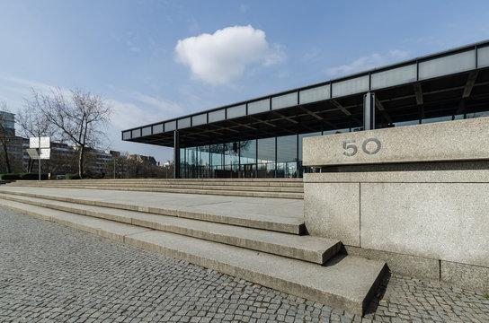 The Neue Nationalgalerie art gallery in Berlin, Germany