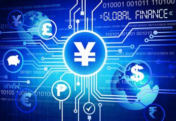 A Blue Global Finance Cartography