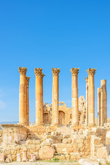 Temple of Artemis is a Roman temple in Jerash, Jordan