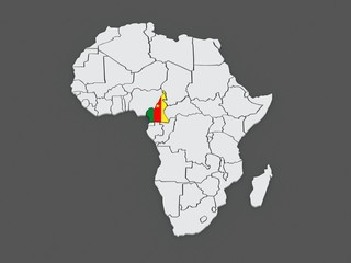 Cameroon Map photos, royalty-free images, graphics, vectors & videos ...