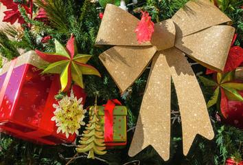 Close-up of giftbox