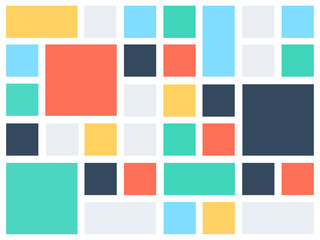 Background pattern template mosaic with a lot of copy space
