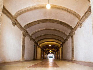 Walk way in Chapel of the Knights Templar