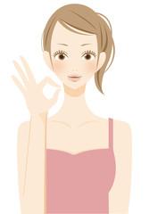 美容 スキンケアをする女性