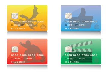 Illustration of Credit Cards