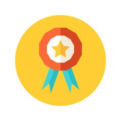 Flat award icon