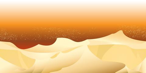sand desert landscape seamless horizontal pattern