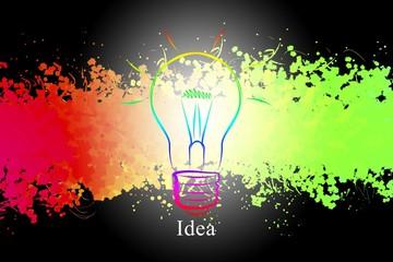 Light bulb business idea