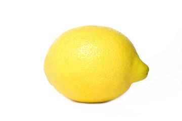 Zitrone einzeln - isoliert