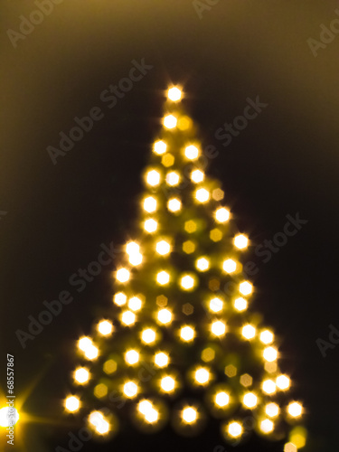 weihnachtsbaum lichter unscharf stockfotos und. Black Bedroom Furniture Sets. Home Design Ideas
