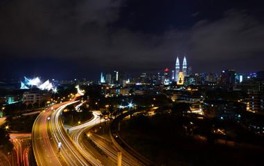 Kuala Lumpur In The Nights