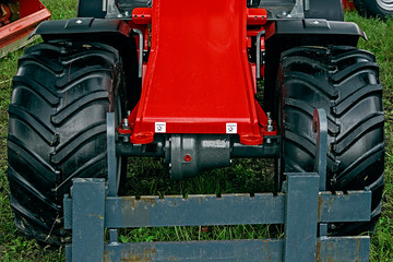 Detail of agricultural equipment 92