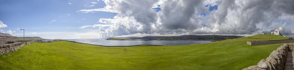 Shetland golf course Landscape