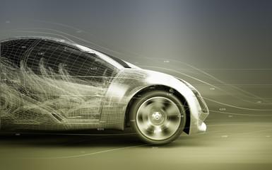 Fotomurales - concept car