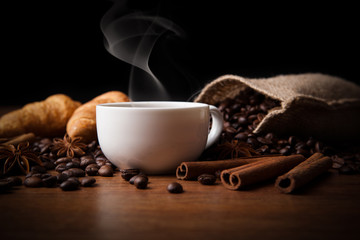 Wall Mural - coffee still life