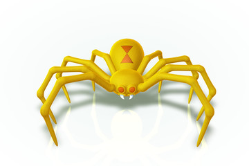 The Yellow Widow Spider