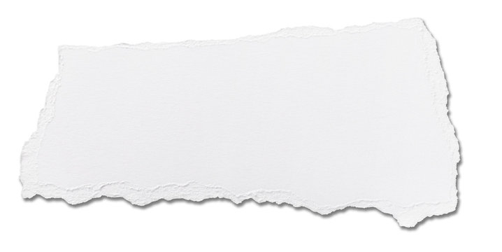 white paper ripped message background