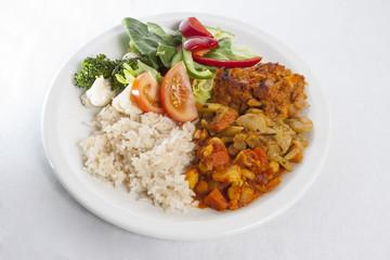 Vegetables meal