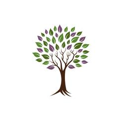 Life tree image logo