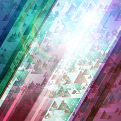 Abstract technology futuristic lines vector background