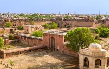 Photo sur Aluminium Fortification Bikaner Fort