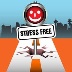 Stress free plate