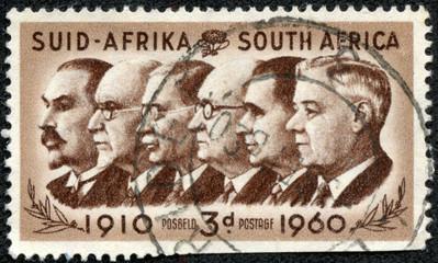 Botha, Smuts, Hertzog, Malan, Strydom and Verwoerd