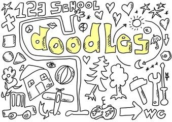 doodles design elements