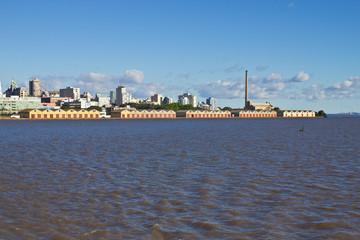 Cais do porto de Porto Alegre