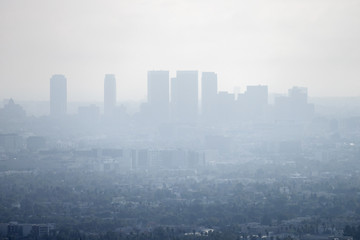 Photo sur Aluminium Los Angeles Los Angeles Smog