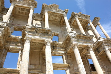 エフェソス遺跡、セルシウス図書館