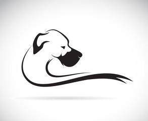 Obraz Vector image of an dog (great dane) - fototapety do salonu