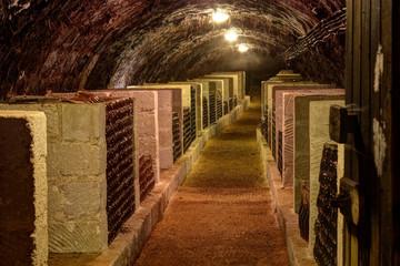 Fototapete - Wine cellar in Tokaj, Hungary