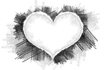 Heart pancil 27